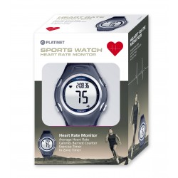 PLATINET SPORT WATCH W/ HEART RATE MONITOR PHR117 BLUE 43125