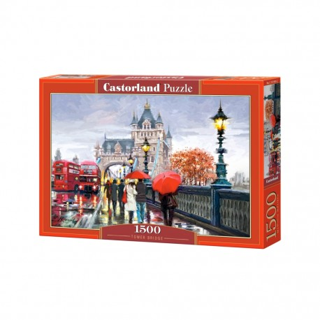 PUZZLE TOWER BRIDGE 1500el CASTORLAND
