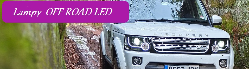 Lampy OFF ROAD LED